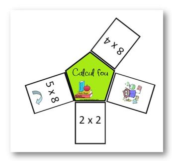 Apprendre ses table de multiplication cole primaire du for Apprendre ses tables de multiplication