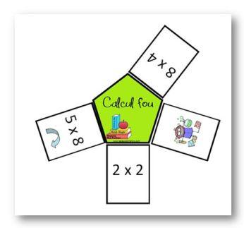 Petits jeux pour apprendre les tables de multiplication - Apprendre les tables de multiplication ce1 ...