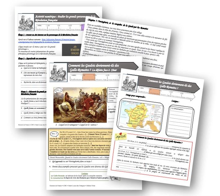 Fichier histoire de la préhistoire au XIXème siècle! - La classe de Mallory