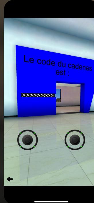 musée virtuel en réalité augmentée